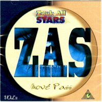 ZOUK   ALLSTARS   Vol 8  -  MOVE PASS